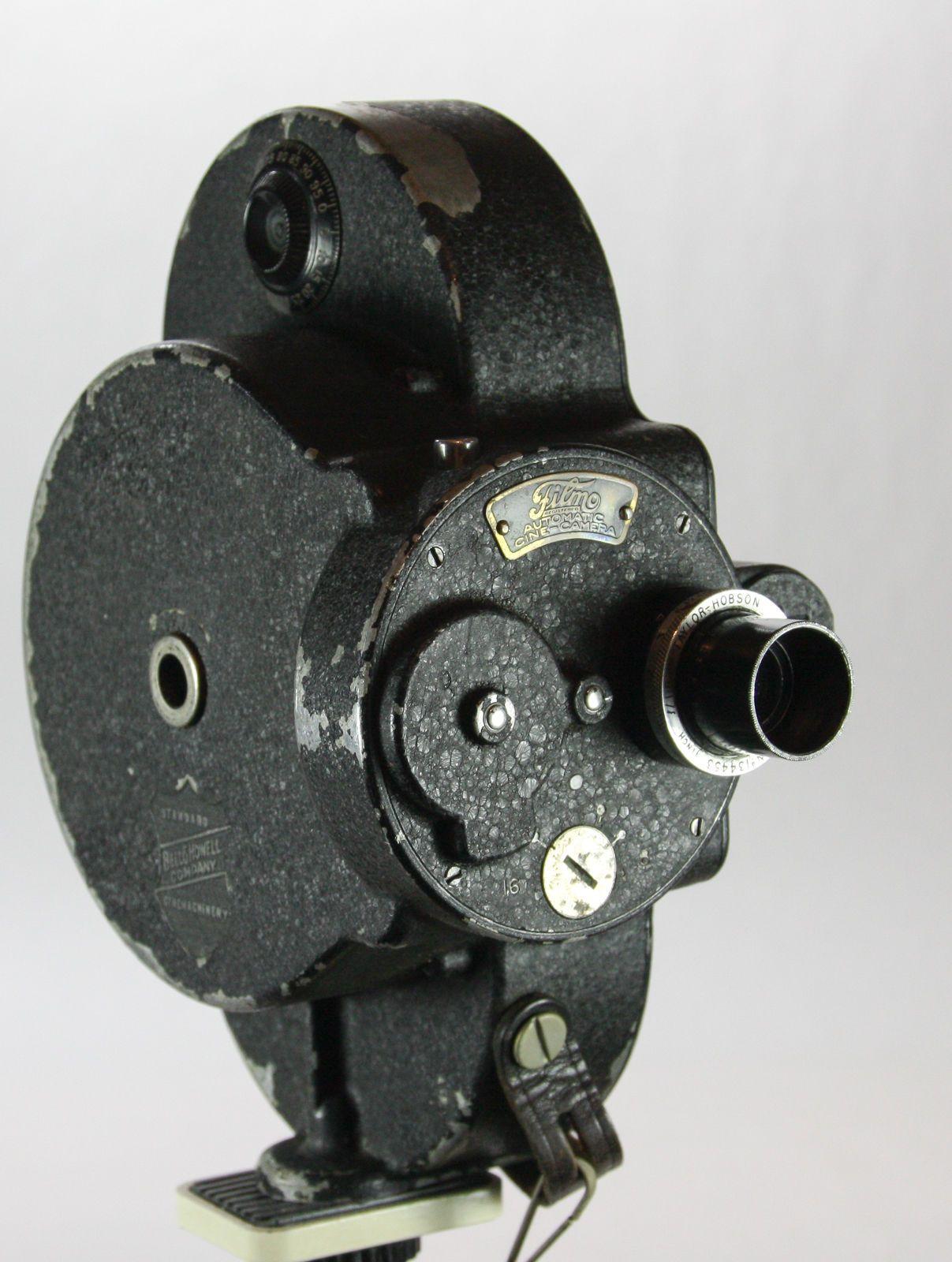 Bell Howell 16mm Filmo movie camera, Taylor Hobson f1 8 lens