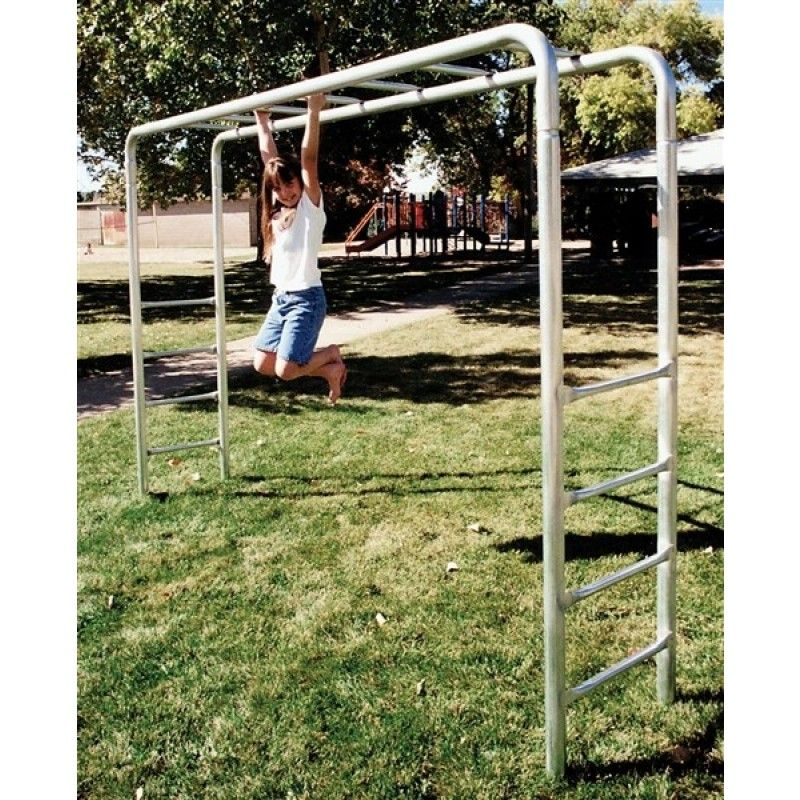 Monkey Bars Usa Made 8ft Tall 10ft 4in Long 7 Rungs Residential Only Takes 2 3 Weeks For Delivery Monkey Bars Metal Swing Sets Playground