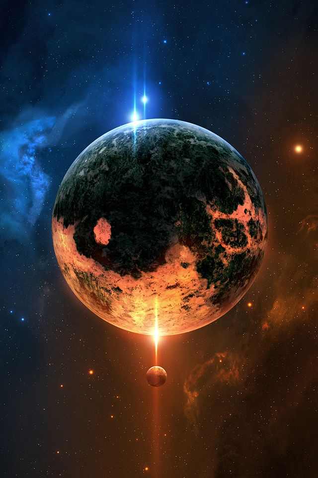 fantasy planet wallpaper planet space iphone wallpaper