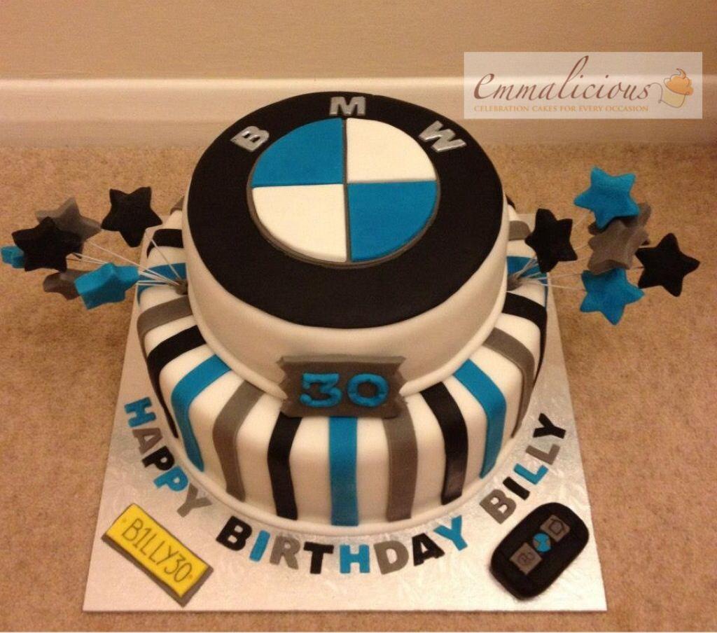 Bmw Cake Bmw Symbol Is An Edible Image Custom Cakes