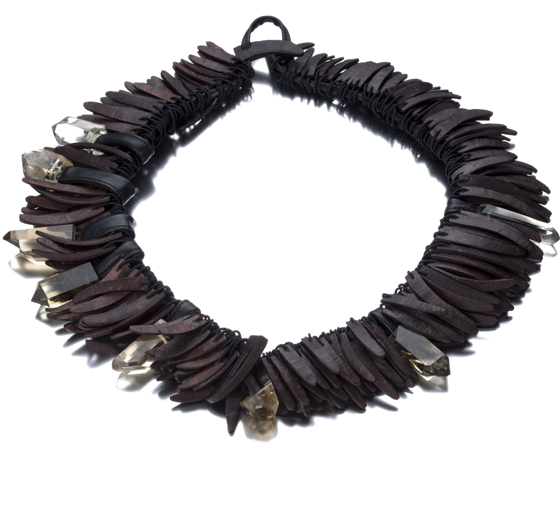Monies Unique necklace - Black Yl0nm