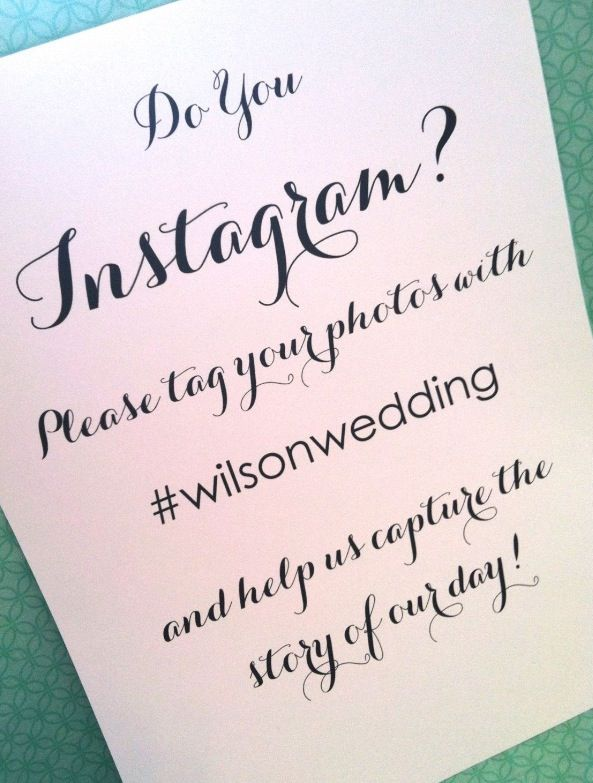 Pin By Listowel Golf Club On Useful Tips And Hints For Any Bride And Groom Instagram Wedding Sign 8x10 Wedding Sign Wedding Signs