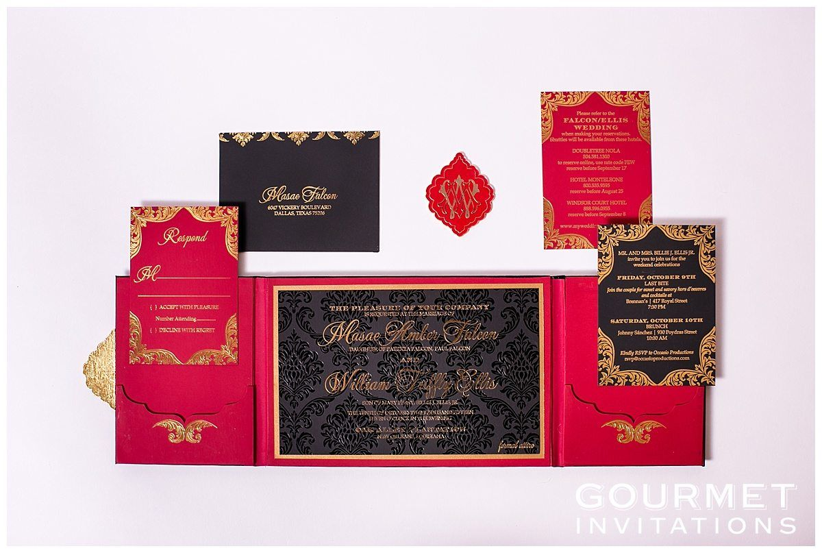 Velvet Wedding Invitations | Weddings and Wedding