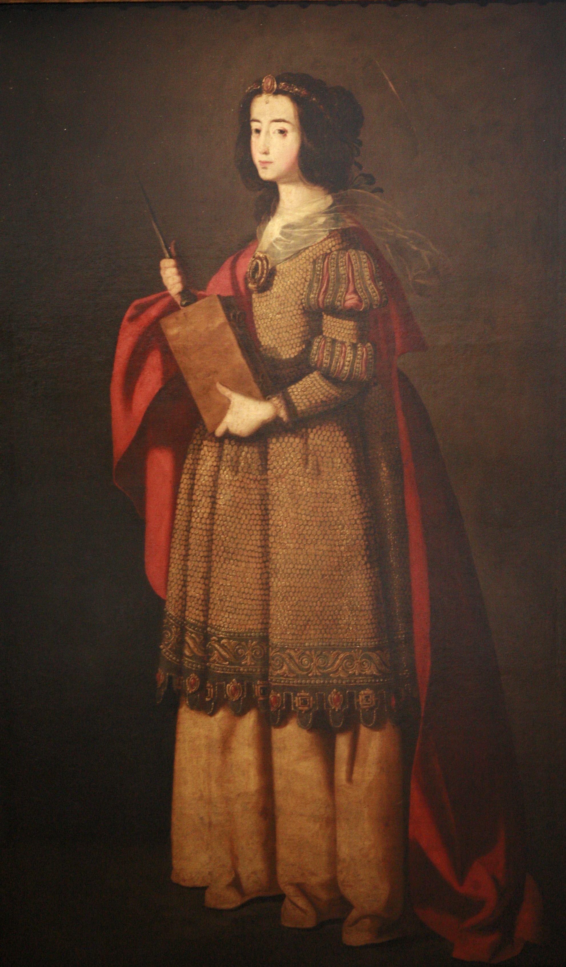 St. Casilda of Toledo, 1640 - Francisco de Zurbaran
