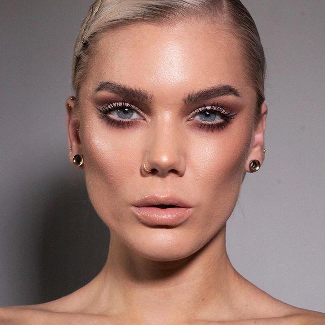 "Linda Hallberg on Instagram: ""Really love how this eye makeup shapes the eyes! Products used:  Base @danessa_myricks Vision Cream Cover N03 @lindahallbergcosmetics…"" -   13 makeup For Teens lipsticks ideas"