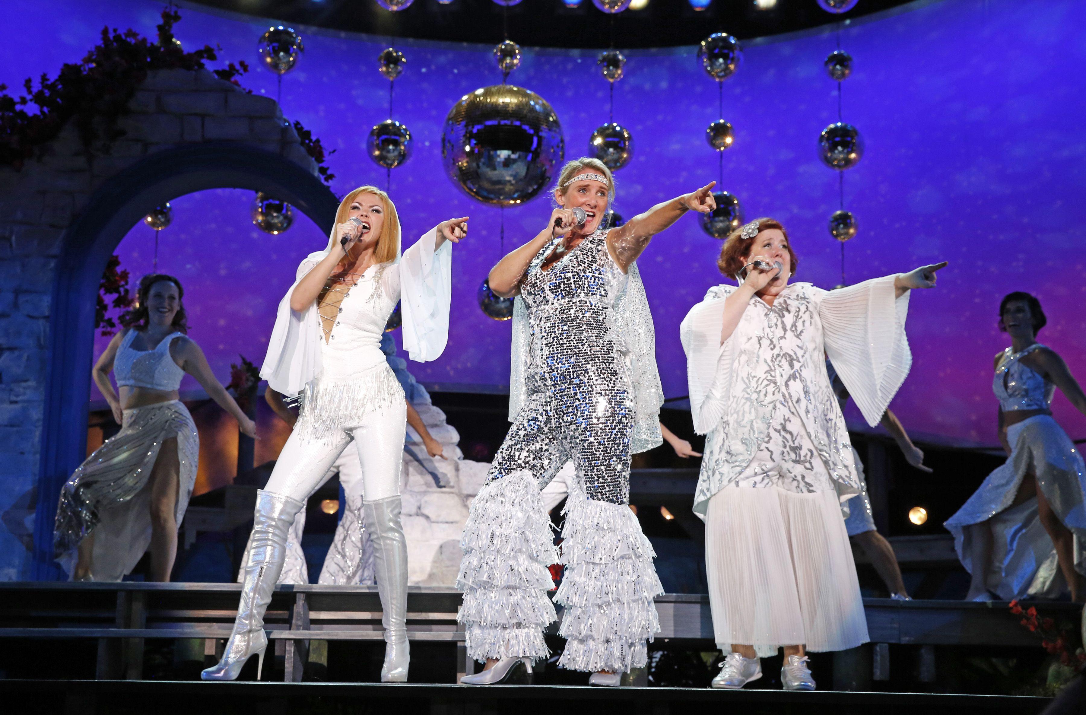 Image Result For White Mamma Mia Broadway Costumes Mamma Mia In 2019 Broadway Costumes Mamma Mia Musicals