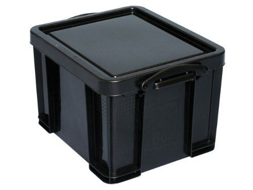 Really-Useful-Storage-Box-Plastic-Recycled-Robust-Stackable-35-Litre -W390xD480xH  sc 1 st  Pinterest & Really-Useful-Storage-Box-Plastic-Recycled-Robust-Stackable-35-Litre ...