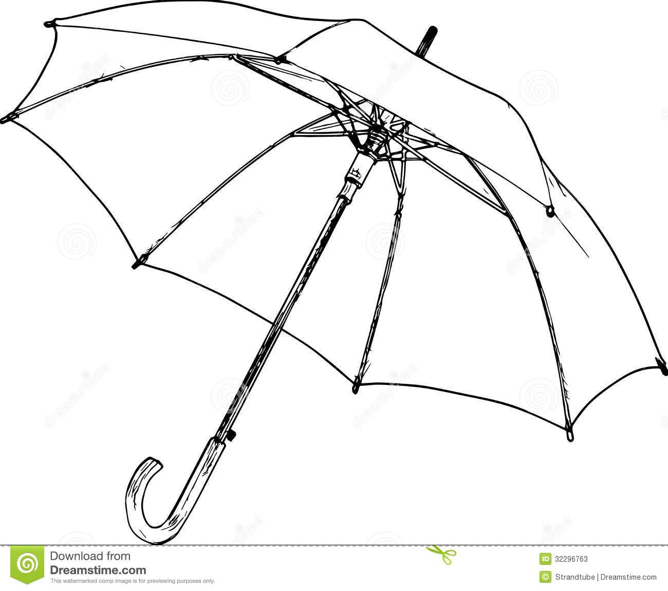 Umbrella and rain conceptual sketch on chalkboard stock photo from the largest library of royalty free images only at shutterstock