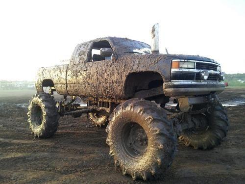 mud truck----YES! Love!