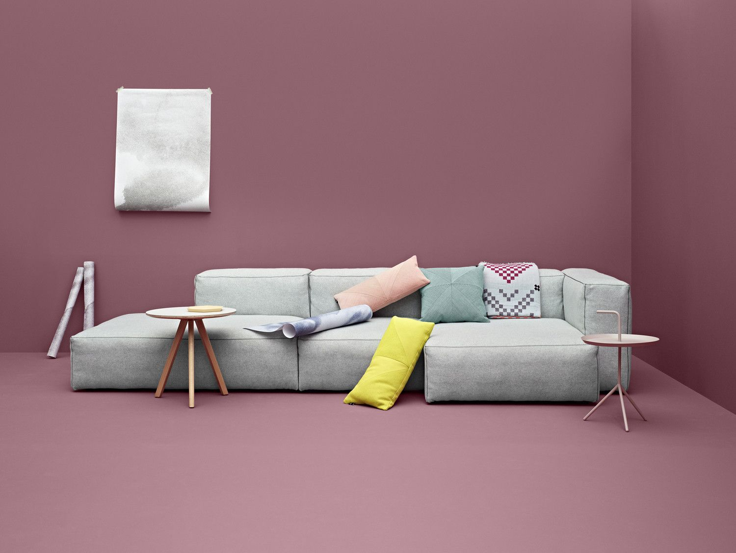 Mags Soft Sofa With Short Chaise Longue Extra Wide   Couch Potato Company