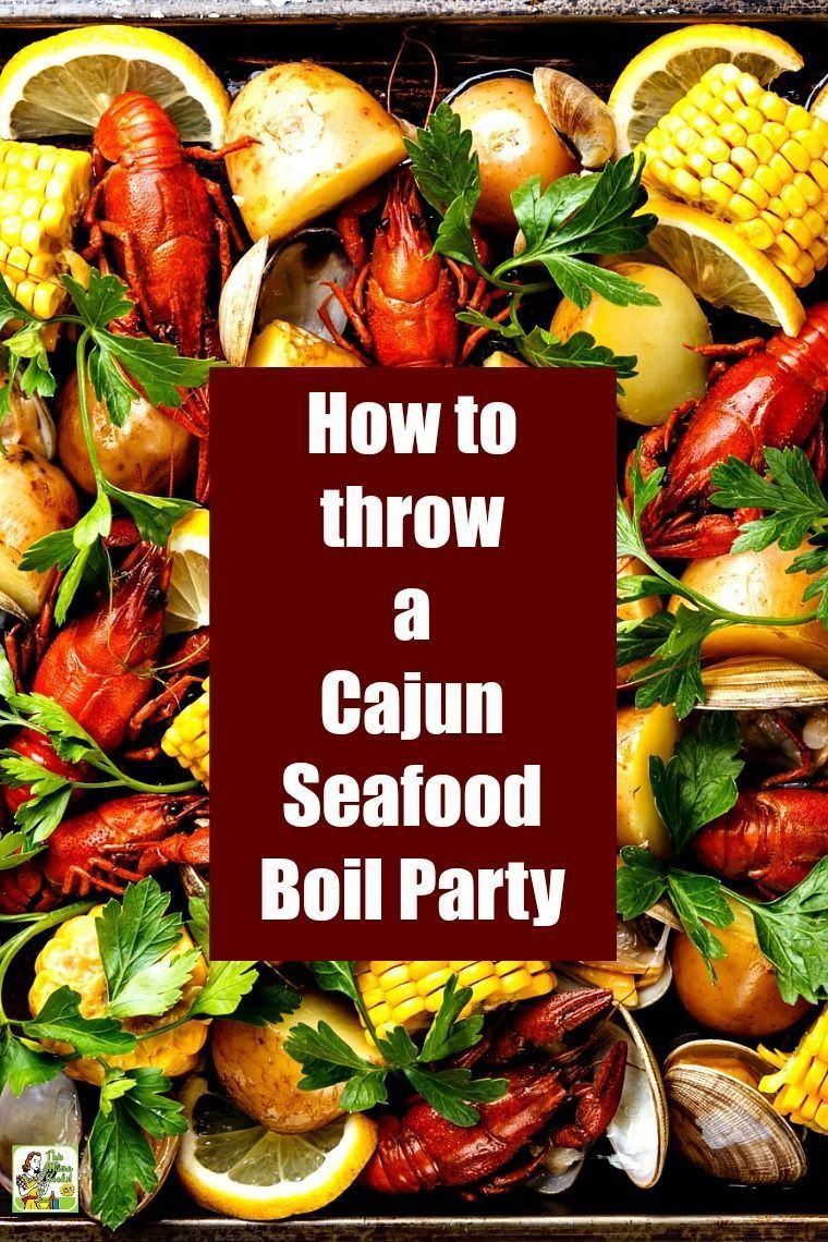 How to Throw a Cajun Seafood Boil Party #seafoodrecipes Learn how to throw a Caj..., #amiguru... #seafoodboil