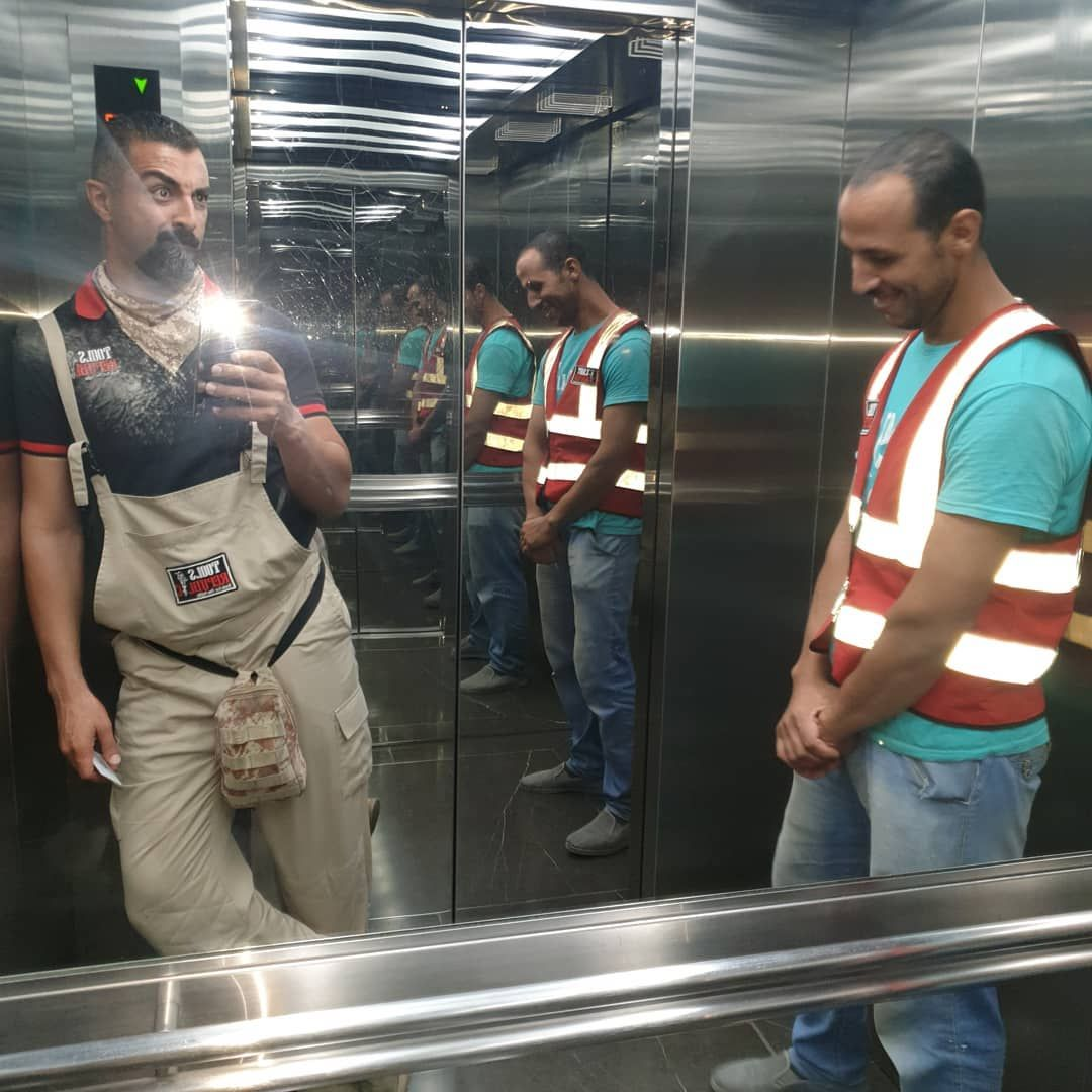 Do your job properly so the boss dont take you into the lift with him😂😂 is ready to serve you 365 days a year. +971-55-6647364 Inquiry@