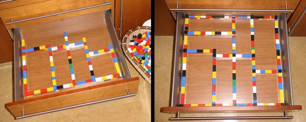 LEGO   Divisórias   Gaveta