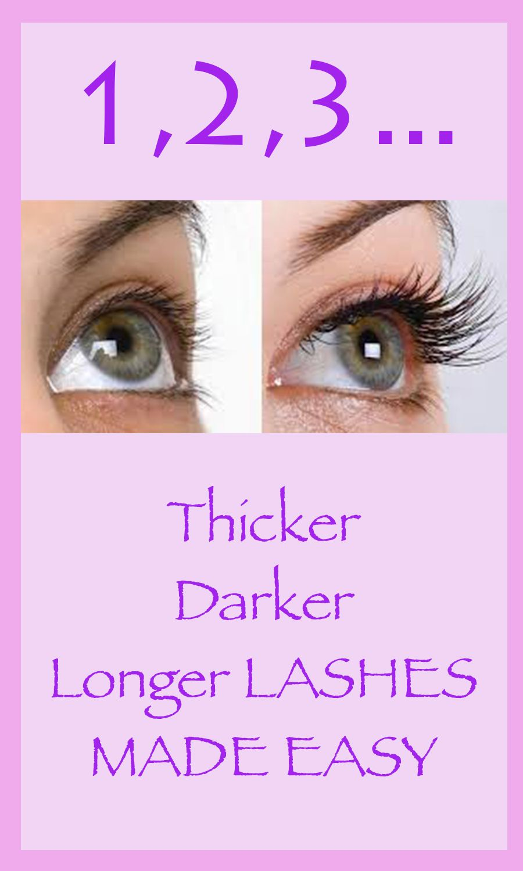 how to make eyelashes thick