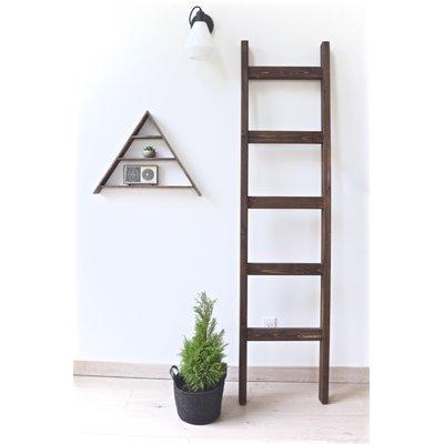 Gracie Oaks Handmade 6 Ft Blanket Ladder Ladder Decor Barn Wood Decor Decor
