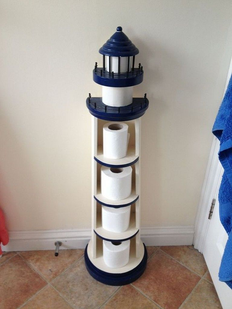 21 Sweet Bathroom Decorating Ideas For Your Children Nautical Bathroom Decor Lighthouse Decor Lighthouse Bathroom