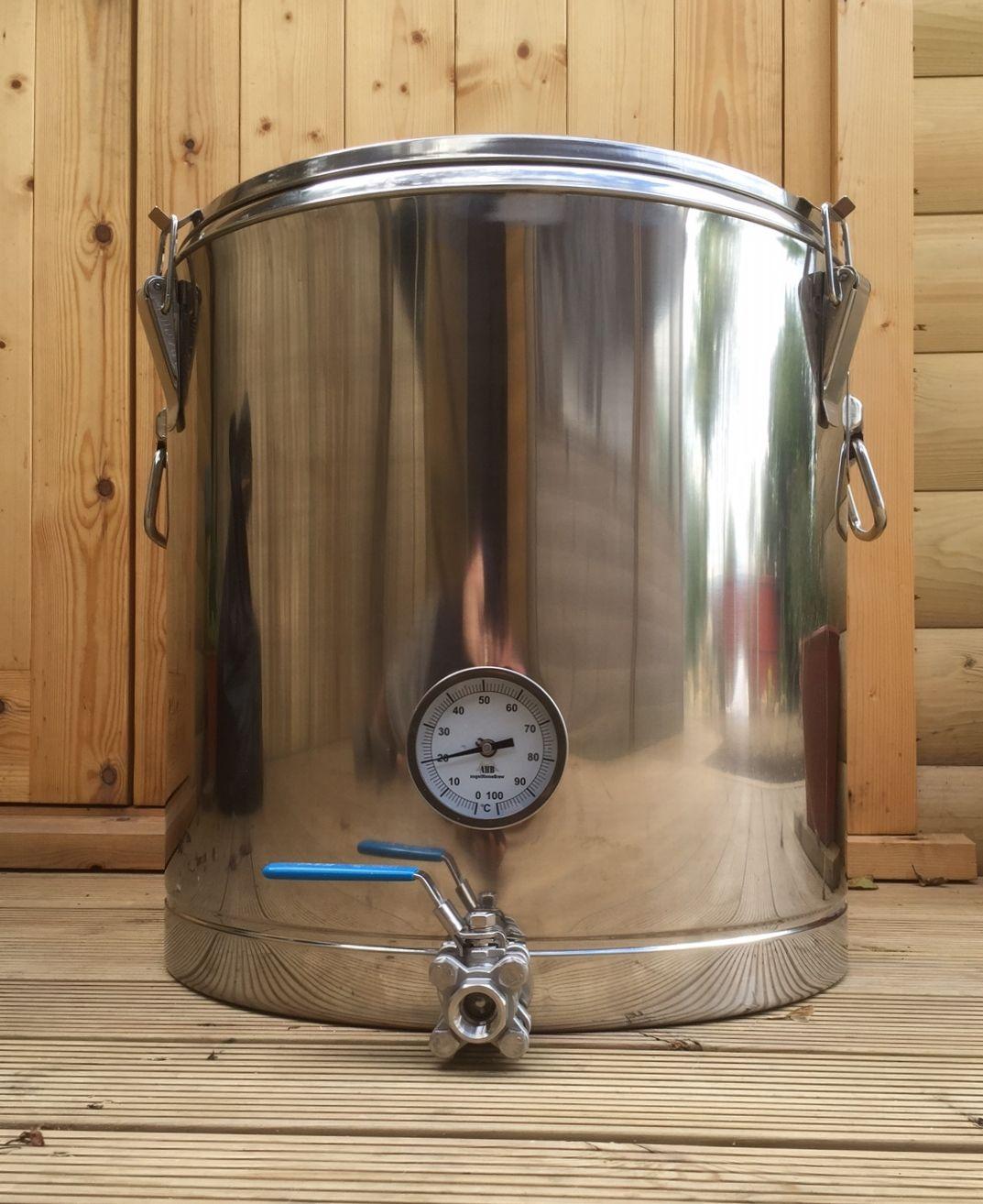 Thermos Pot Bottom Drain Conversion