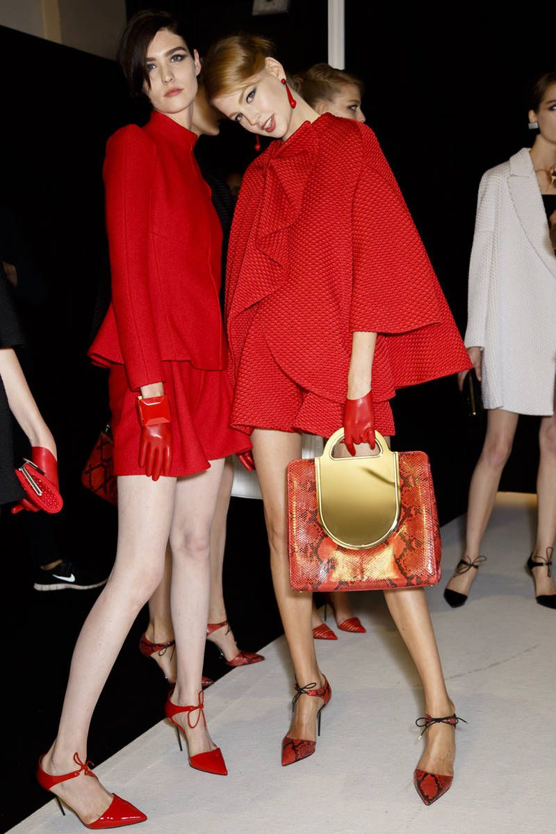 Backstage at Paris Couture Week