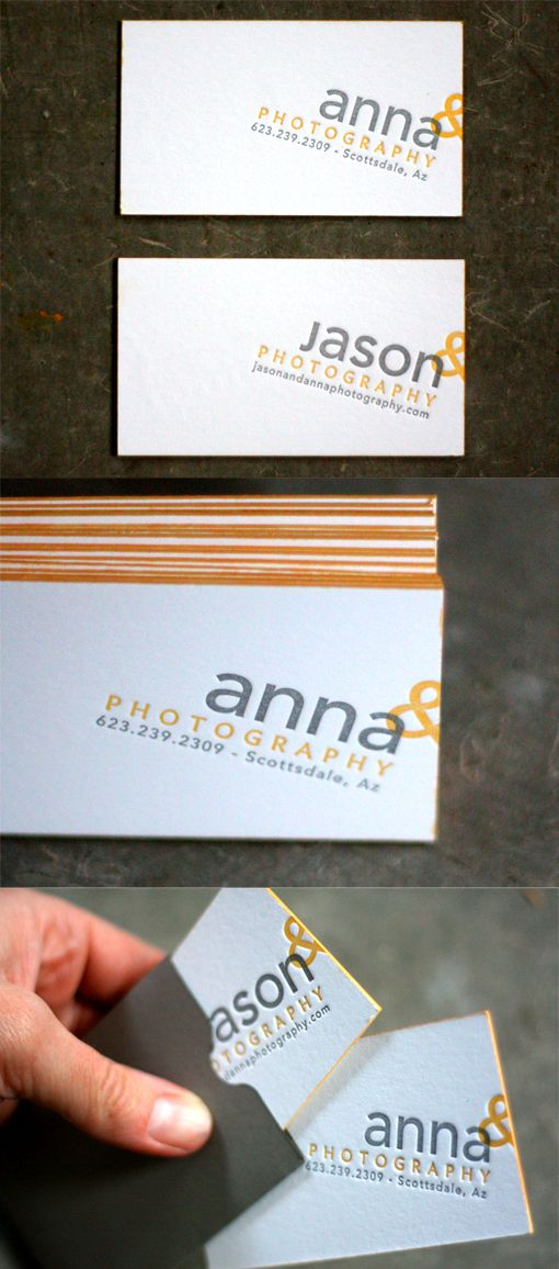 Letterpress edge painted business card design for a photographer letterpress edge painted business card design for a photographer colourmoves