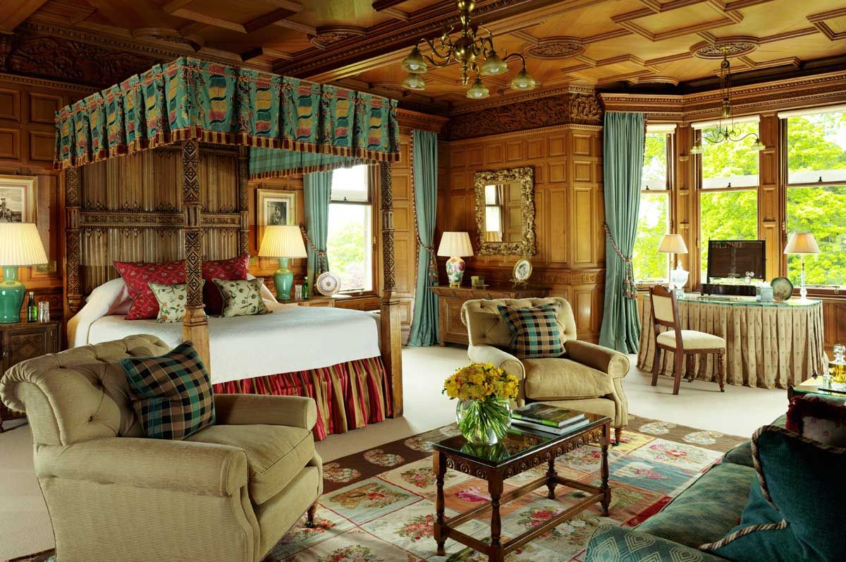 Schloss Schlafzimmer ~ Carnegie club at skibo castle scotland places id like to go