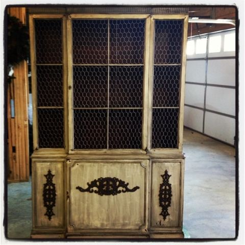 Freckled Horse: China cabinet redo! | DIY | Pinterest