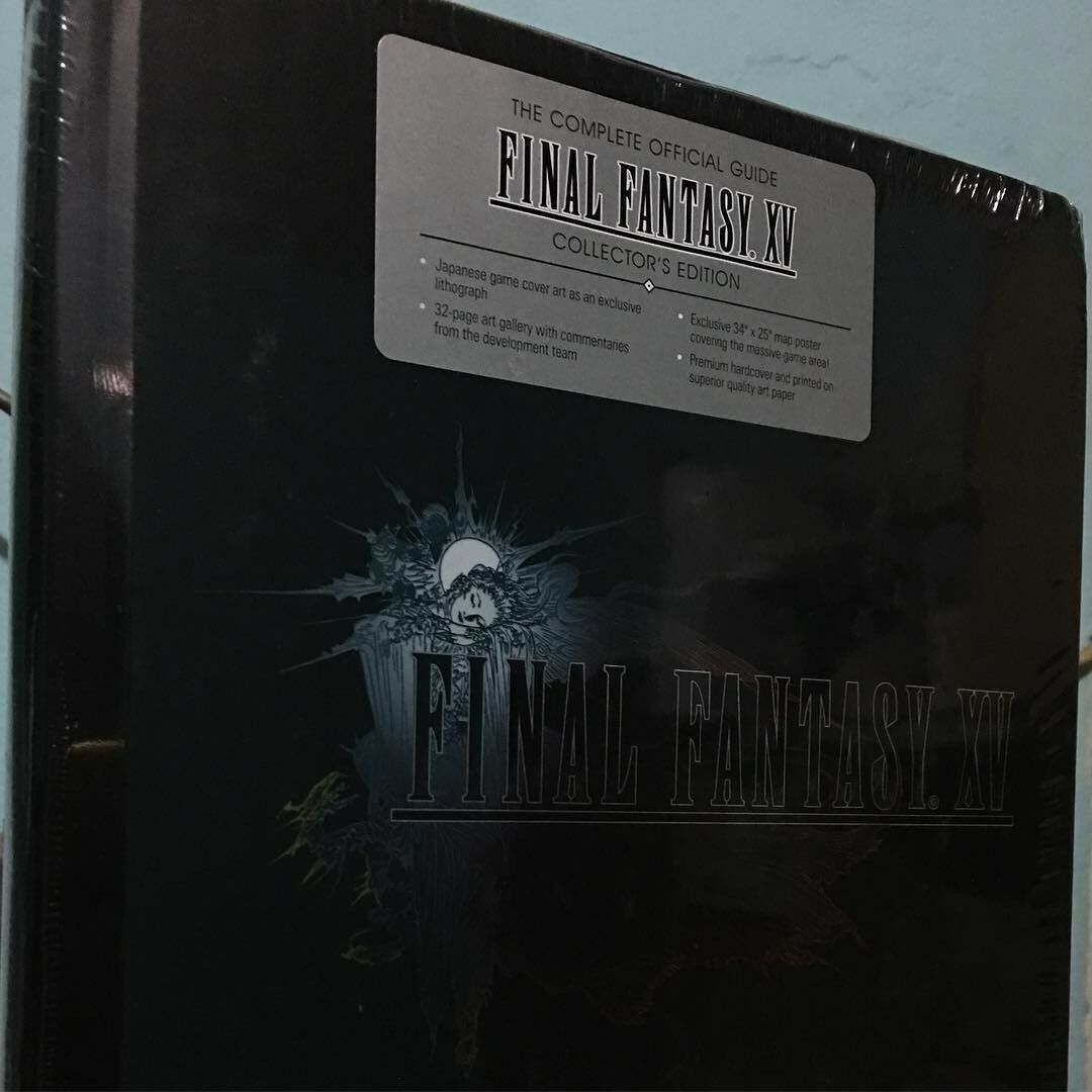 Strategy Guides And Cheats 156595 Final Fantasy Xv 15 Guide New