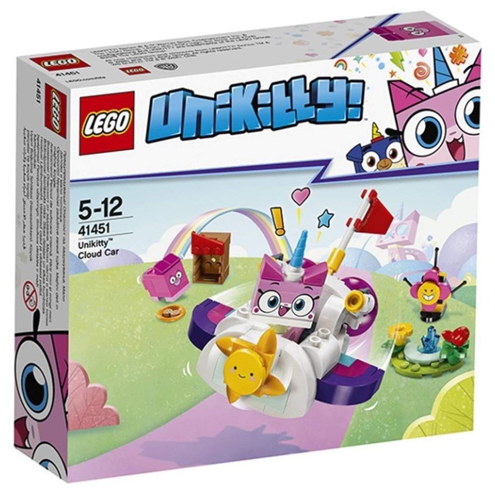 LEGO Unikitty Cloud Car 41451 Building Set 126 Piece