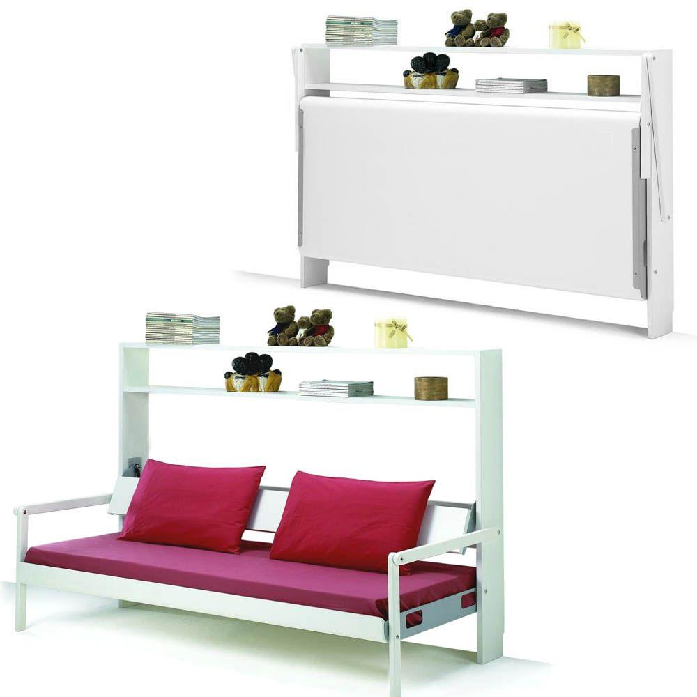Armoire lit banquette 1 personne livio 2 armoire lit bureau canap s armoire lit - Lit banquette 1 personne ...