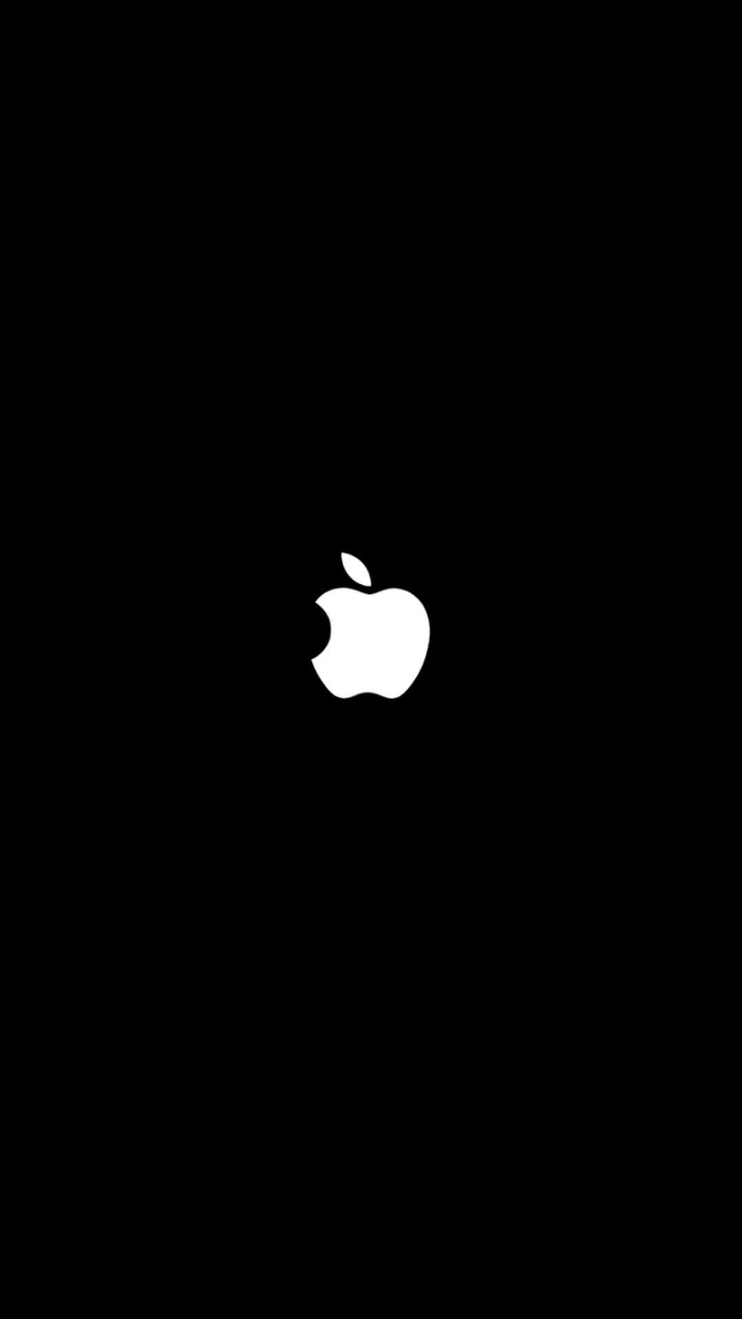 Wallpaper Black Apple For Iphone 7 Apple Wallpaper Iphone