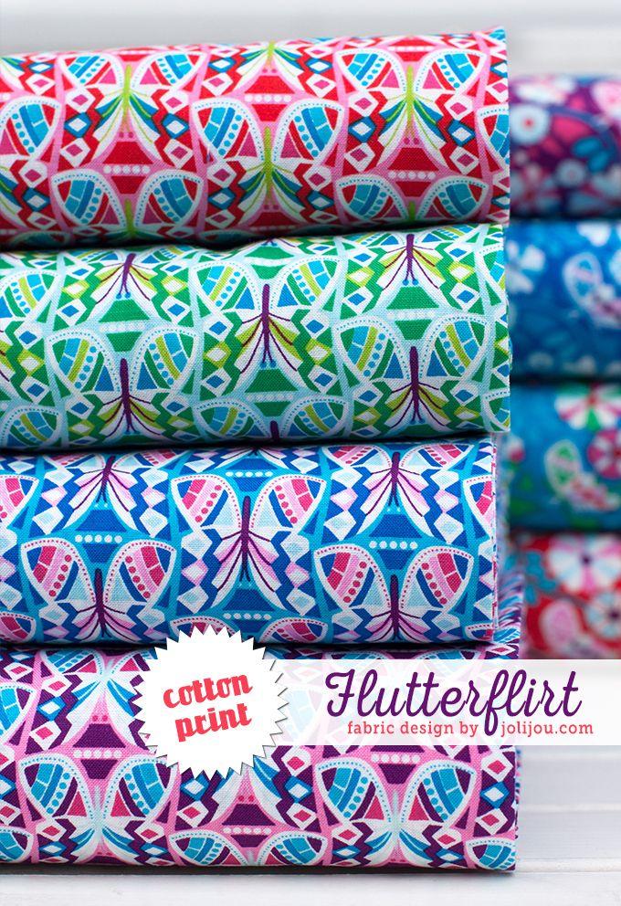 flutter jolijou fabric stoffe kaufen hilco stoffe und sch ne stoffe. Black Bedroom Furniture Sets. Home Design Ideas