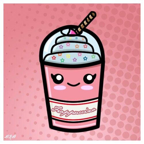 Kawaii Milkshake Ilustração Kawaii Arte Do Kawaii E