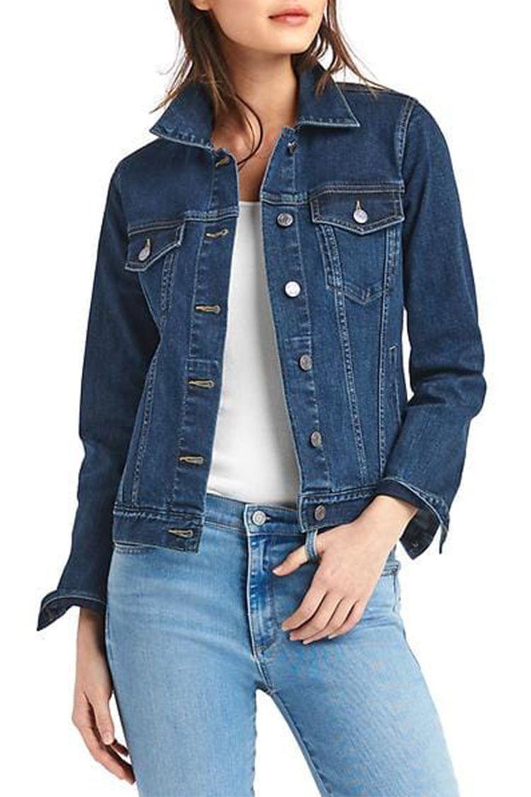 Blue Denim Jacket Vintage Denim Blazer Women/'s Denim Jacket Medium Denim Blazer Jacket Vintage Blazer Medium Denim Jacket Ladies Jean Jacket