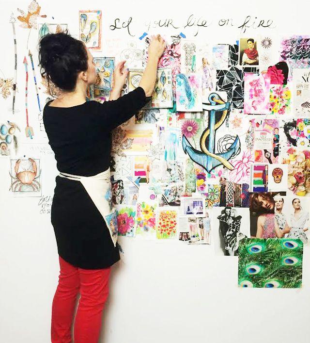 inspiration wall (alisaburke)