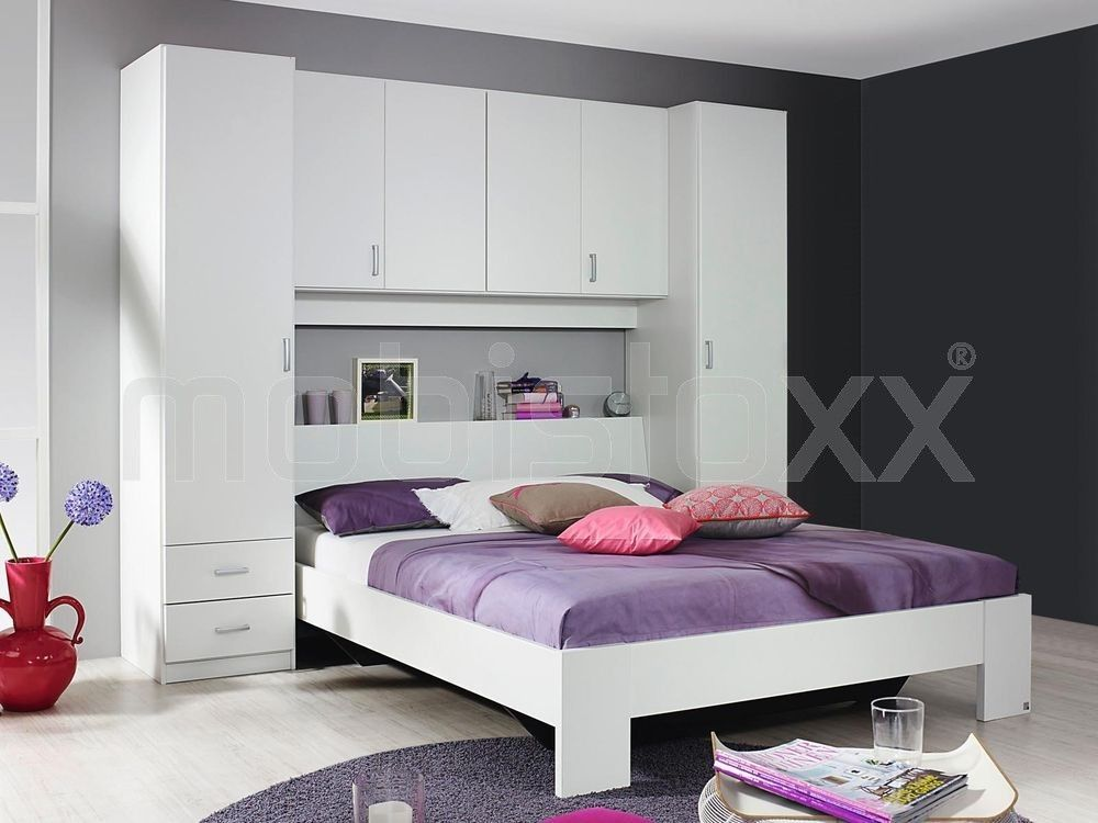 lit pont kronos h tre 140x190 cm 1 armoire lit. Black Bedroom Furniture Sets. Home Design Ideas
