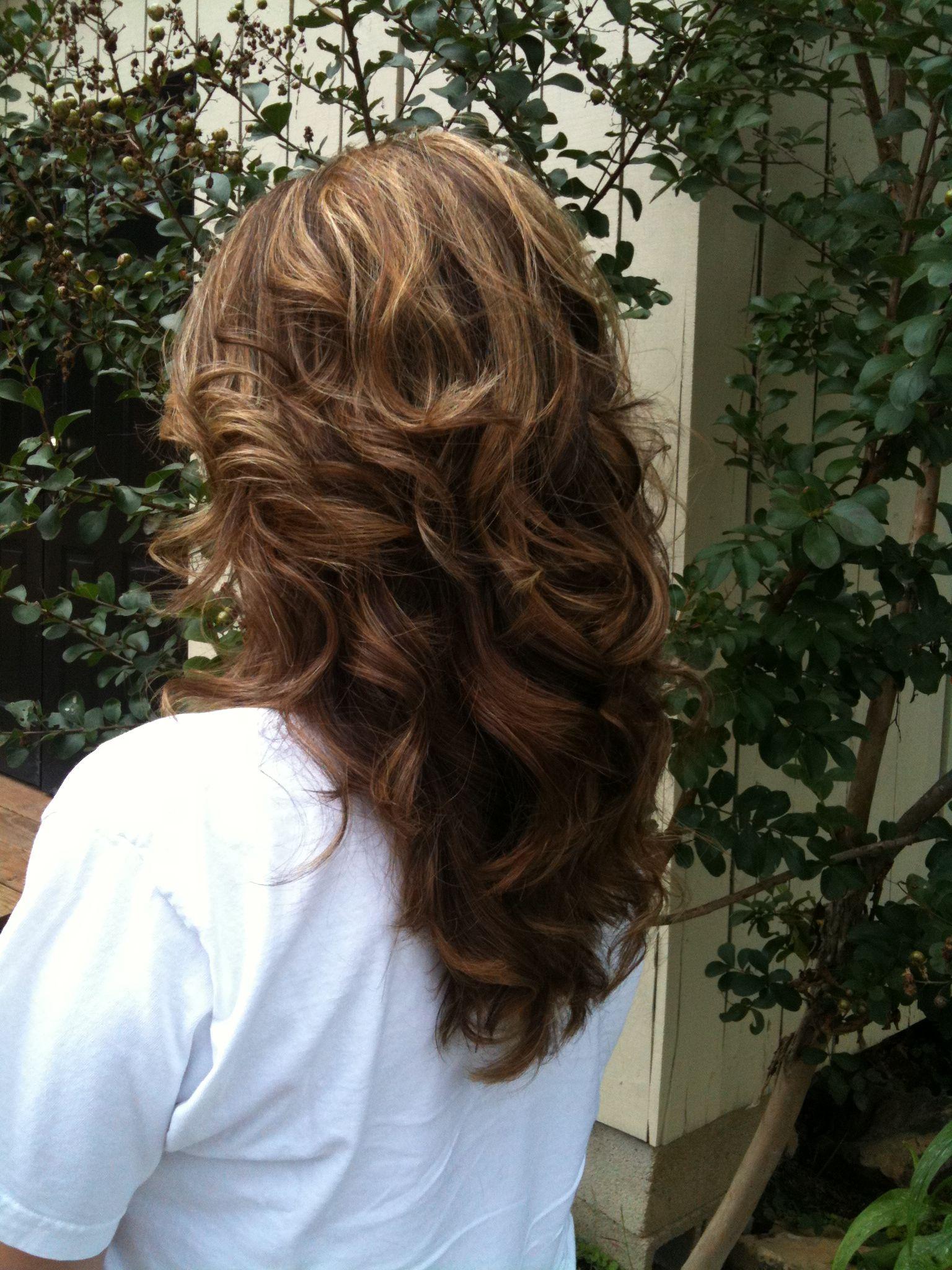 Long loose curls hair styles makeup etc pinterest long loose