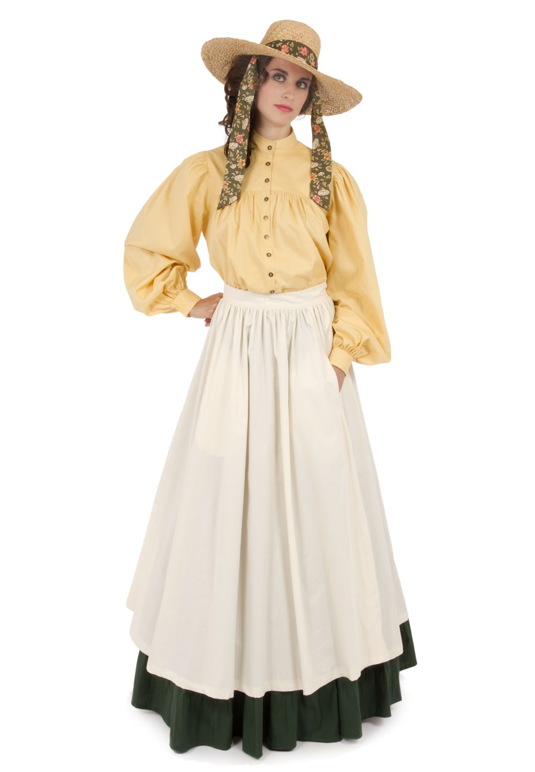 Old West, Prairie, & Saloon Dresses & Gowns from Recollections ...