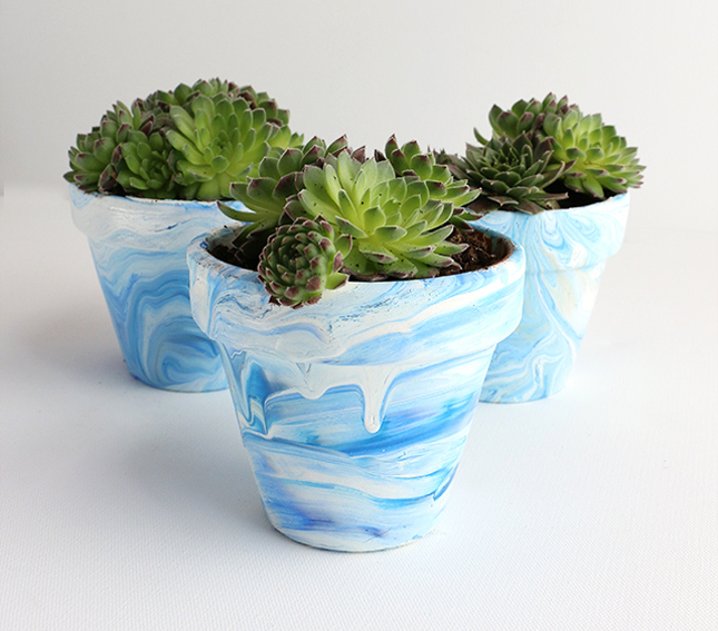 13 Sehr Schöne Und Lustige Ideen, Wie Man Terrakotta Pflanztöpfe Verzieren  Kann!