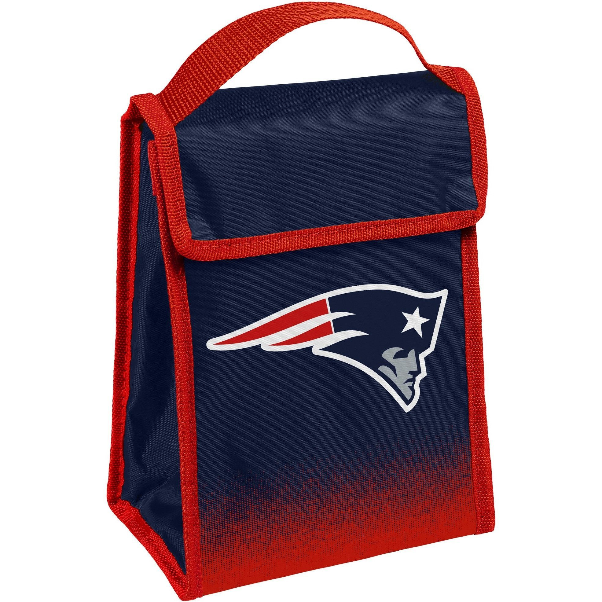 d10184b1 New England Patriots NFL Gradient Hook & Loop Lunch Bag | new ...