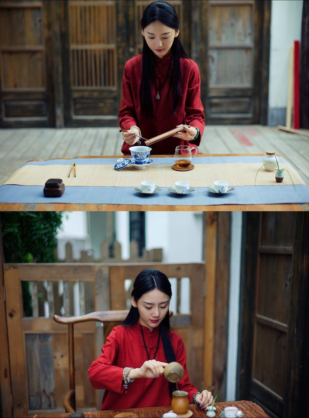 Longjing tea (literally translated as Dragon Well tea), is