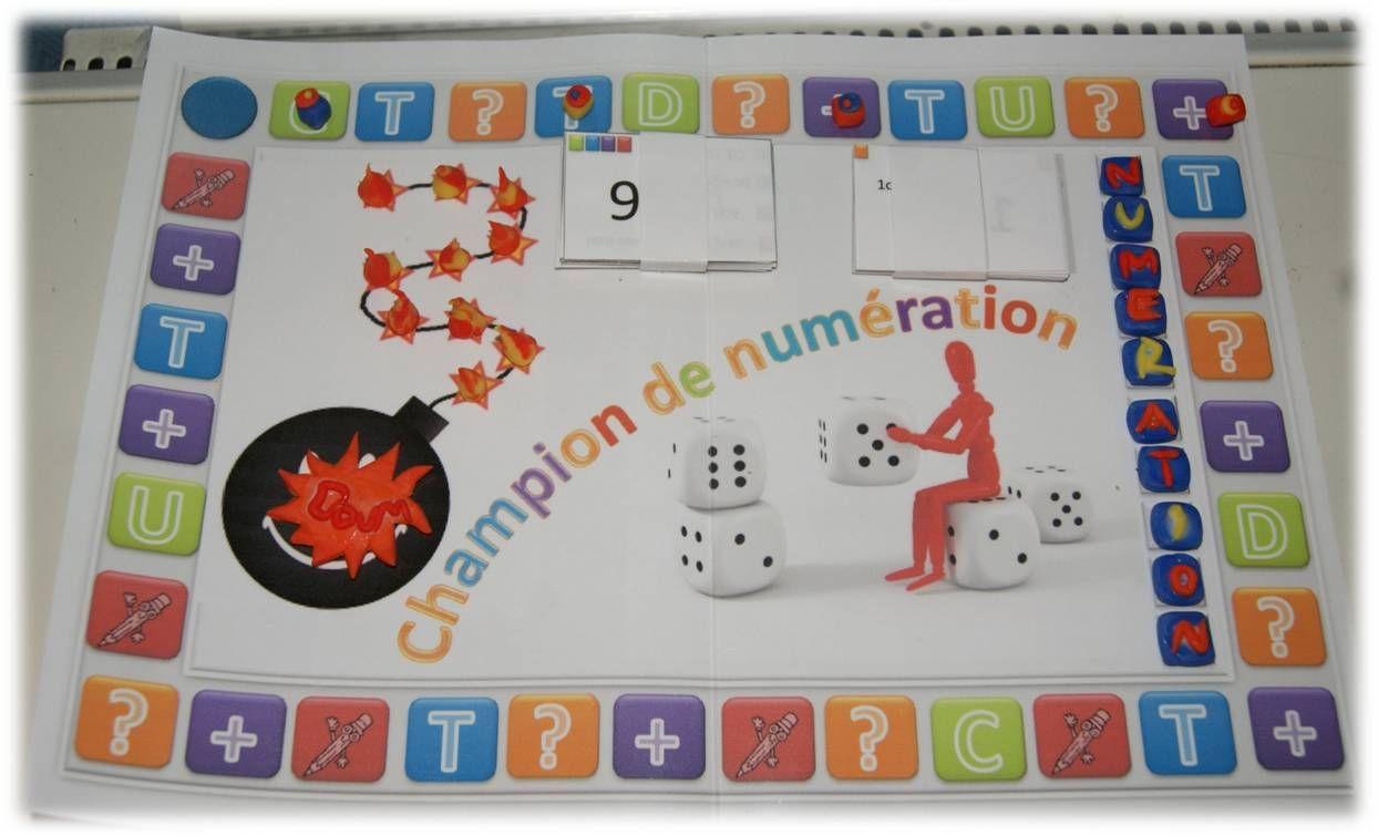 Fabuleux Jeu : Champion de numération - Chez Lutin Bazar | Maths  YM69