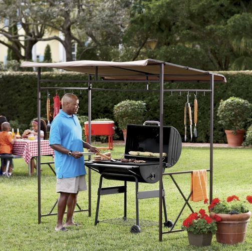 Grill Canopy Garage And Entry : Grill gazebo from through the country door father s day