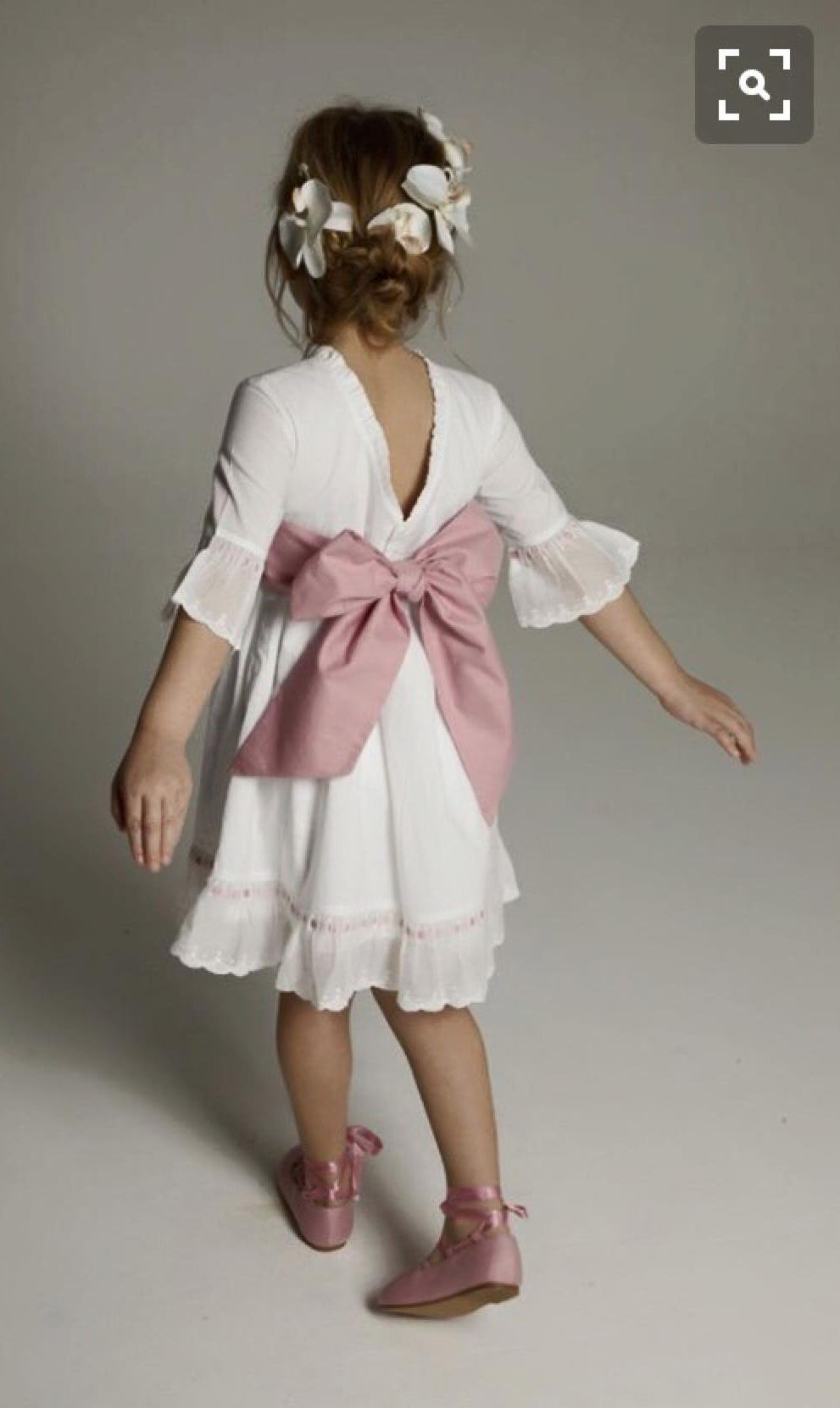 Little girl dresses for weddings  Plumetiespalda en pico y rosa palo  Siehst gut aus kind