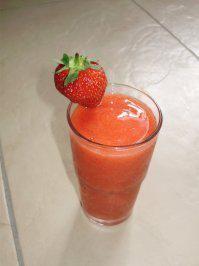 Rezept: Erdbeer - Daiquiri ohne Alkohol