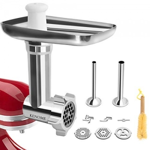 Metal Food Grinder Attachment For Kitchenaid Stand Mixers Includes