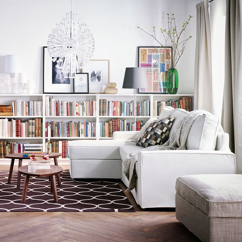 A Comfortable Sofa Bed Means This Room Is A Library By Day And A