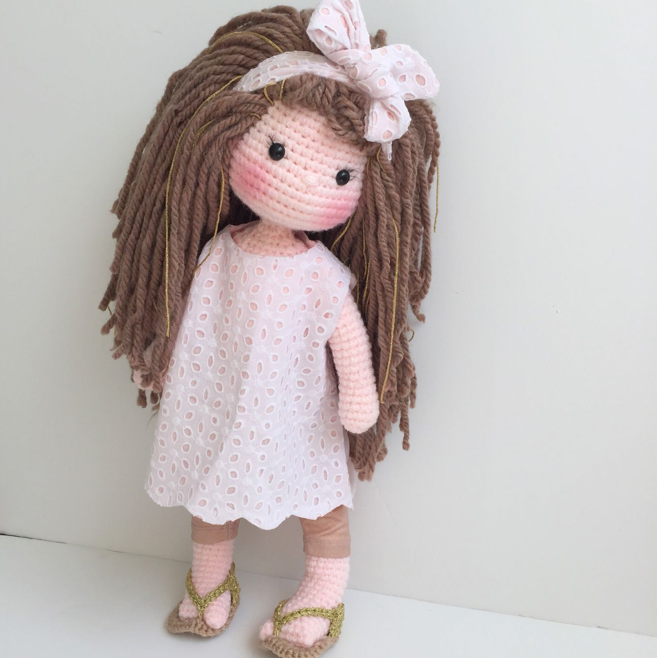 Amigurumi Doll How To : Amigurumi doll natalia pinterest