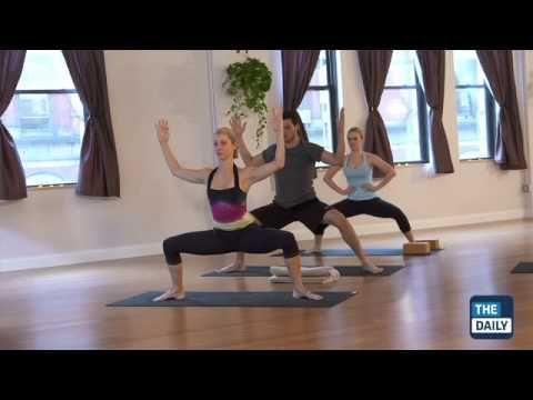 20 minute yoga class with hilaria baldwin vinyasa