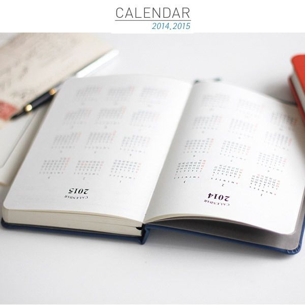 2014 Iconic hardcover the diary dated scheduler - fallindesign.com