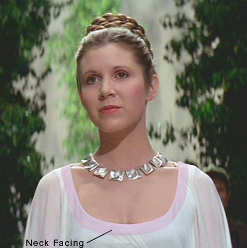 princess leia ceremonial dress pictures | ... Dee Collection & Costumes - Star Wars Princess Leia Ceremonial Costume