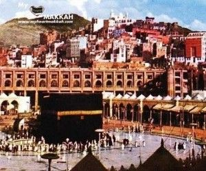 Beautiful View Of Old Khana Kaba Photo Wallpaper Mekke